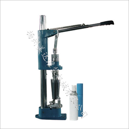 Manual Aerosol Capping Machine