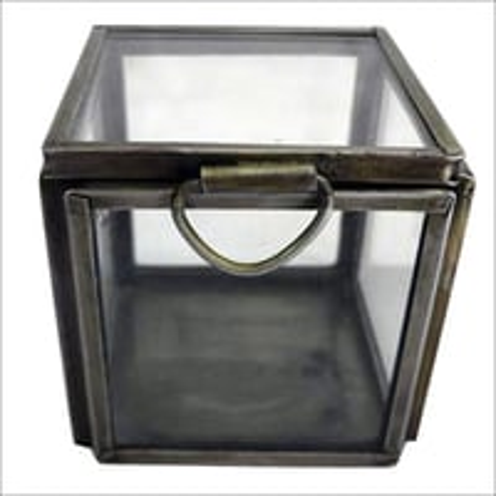 Designer Glass Storage Boxes