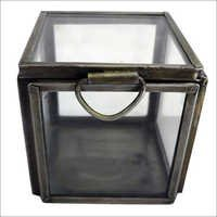 Designer Glass Storage Boxes