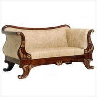 Traditional Two Seater Sofa Set