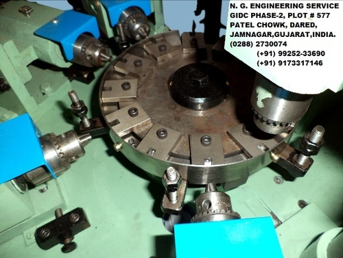Brass Rotary Table Machine