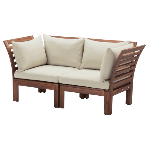 Low Floor Curved Hand Chair Style Sofa