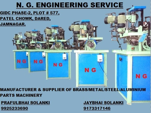 Aluminium Parts Machinery