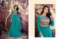 Anarkali Georgette Salwar Suits