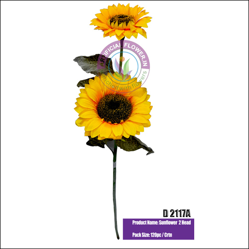 2 x1 Artificial Sunflower