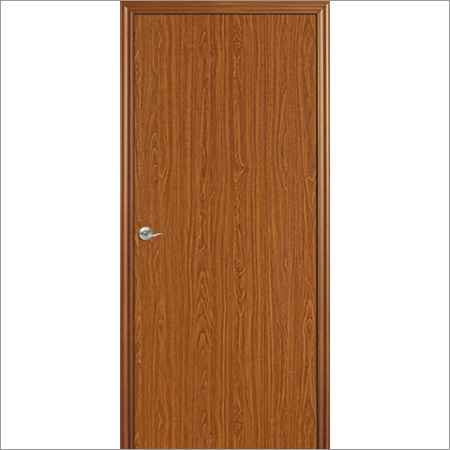 Wooden Finish Steel Doors Single and Double