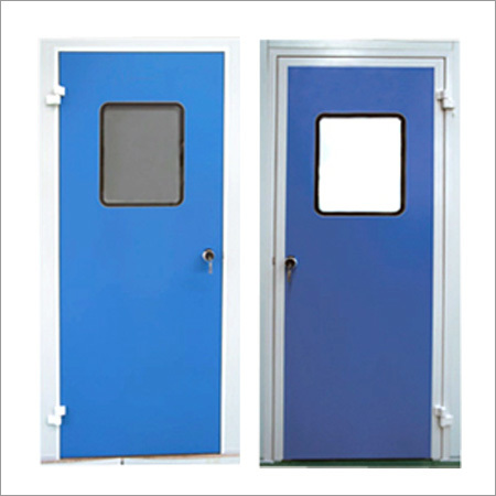 Clean Room Doors Single and Double Leaf