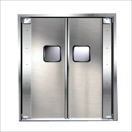 Stainless Steel Double Doors