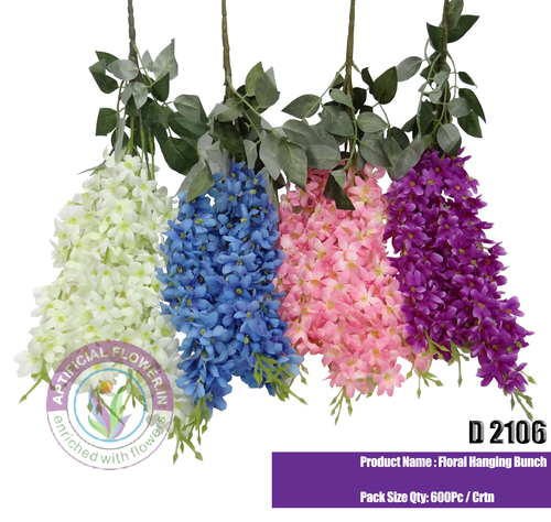 Artificial Floral Hanging Bunch
