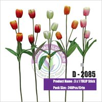 3 x 1 Artificial Tulip Stick