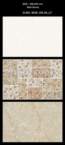 Digital Matt Wall Tiles
