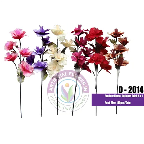 5X1 Artificial Delicate Flower Stick
