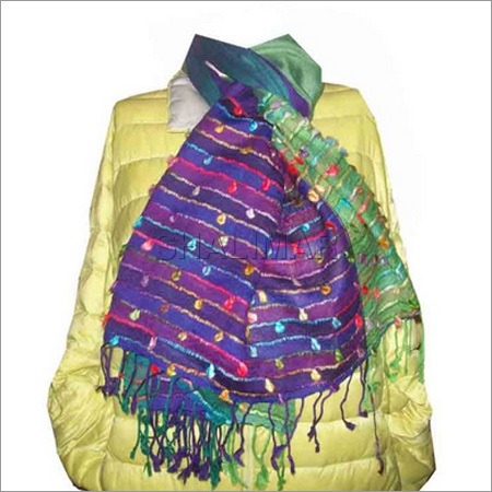 Designer Silk Wool Shawls