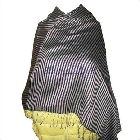 Silk Wool Stripe Shawls