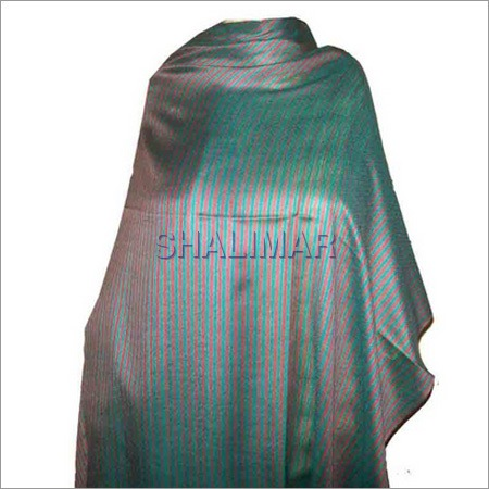 Silk Wool Stripe Shawls