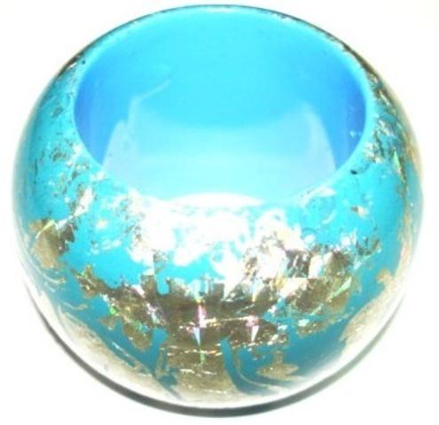 Sky Blue Napkin Ring