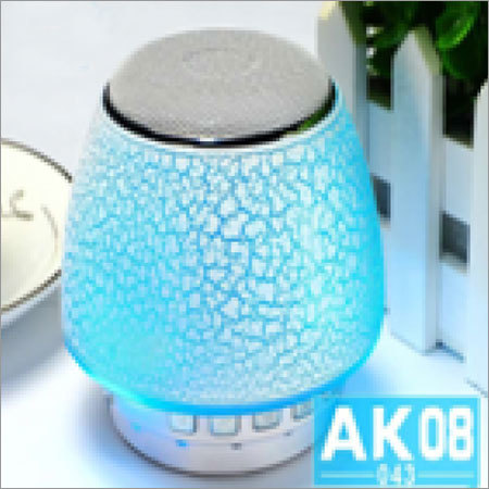 Bluetooth Speaker with Colorful LED