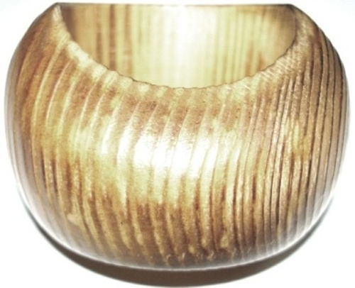 Gold Wooden Napkin Ring