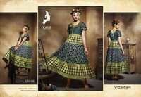 Anarkali Digital Printed Long Kurti