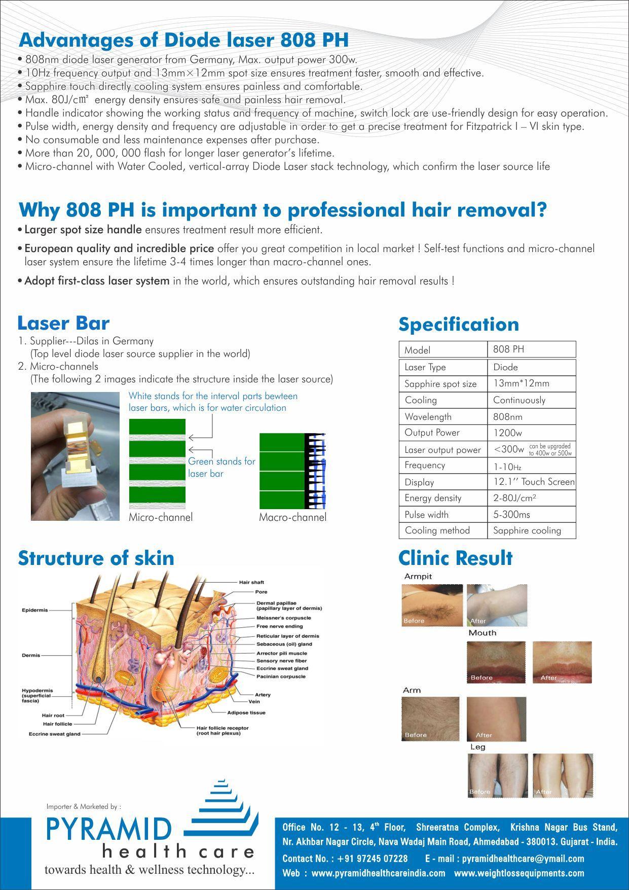 Hair Reduction Laser Machine