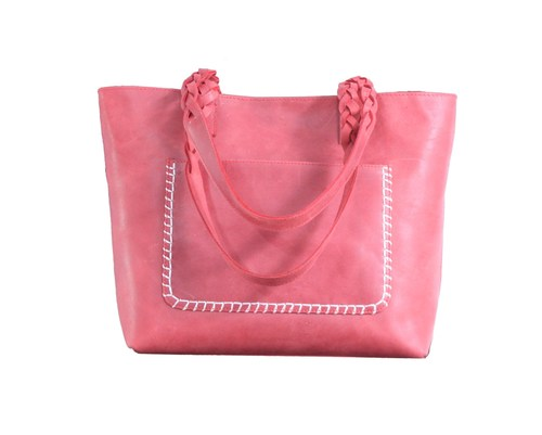 Ladies Designer Leather Tote Bag
