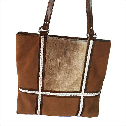 Suede Leather Ladies Purse