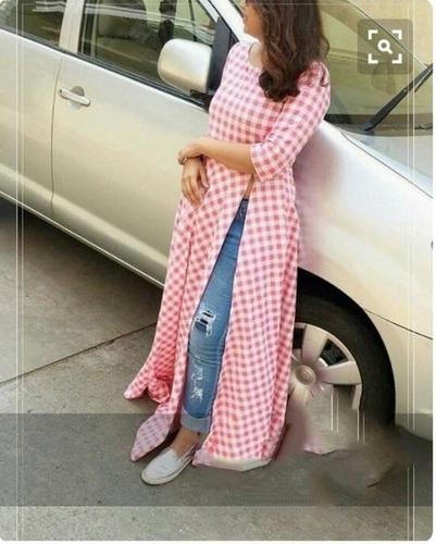 Designer Light Colour Maxi Style Long Dress