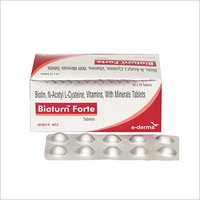 Hair Growth Bioturn Forte Tablet With Biotin