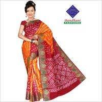 Ladies Designer Bandhani Sarees