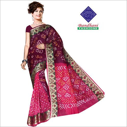 Wholesale Bandhani Designer Sarees