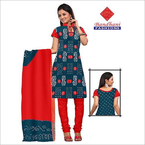 Bandhani Ladies Dress Material