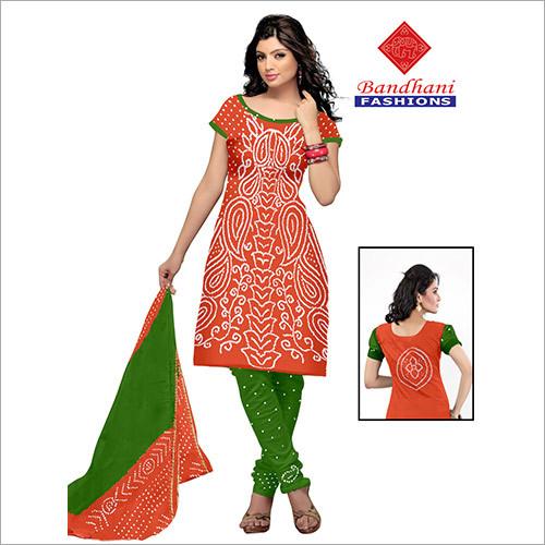 Bandhani Designer Unstitch Material Wholesale