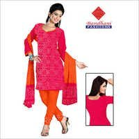 Bandhej Ladies Designer Dress Material Jamnagar