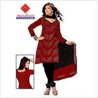 Bandhej Printed Dress Material Jamnagar