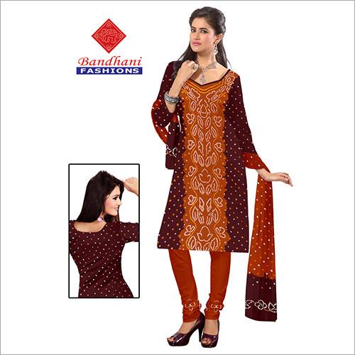 Designer Bandhani Printed Suits Wholesale