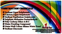 Contruction chemicals