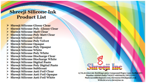 Shreeji Silicone Ink