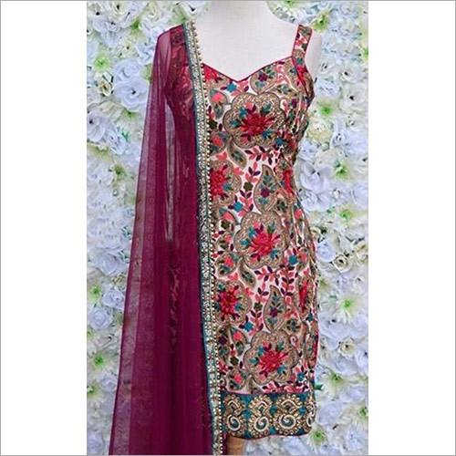 Embroidered Ladies Designer Suit