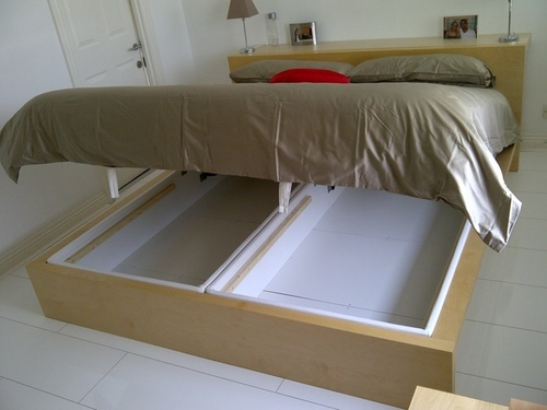Extra Storage Bed