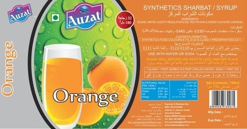 Orange Sharbat