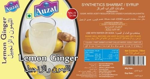 Lemon Ginger Sharbat