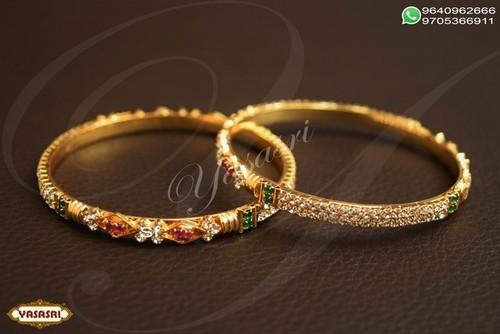 cz fancy traditional bangles