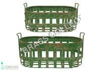 Metal Baskets Set of 2 Pcs