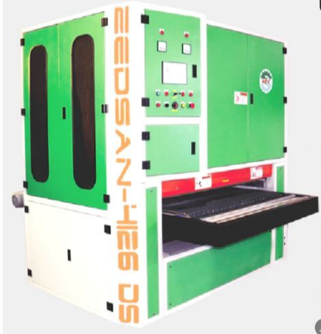 Double Head Wide Belt Sanding Machine - Top