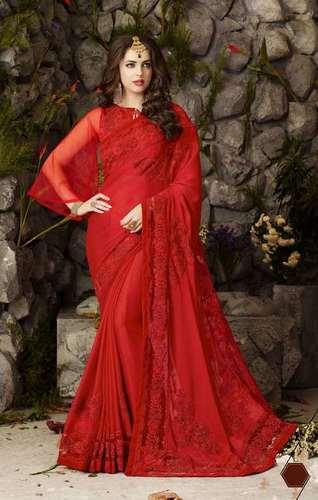 Satin Fancy Saree