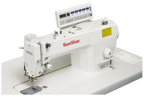 Direct Drive, High Speed, 1-Needle, Lock Stitch Sewing Machine with Automatic Thread Trimmer