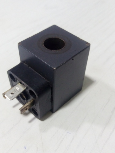 Solenoid coil 2 Pin 24 vdc molded