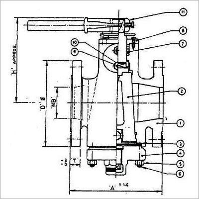 Cast Steel Plug Valve