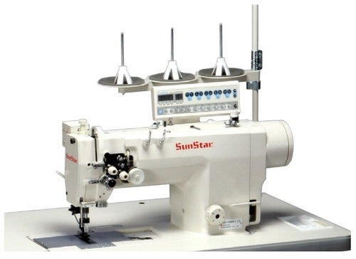 Direct Drive,High-speed,1-needle, Needle Feed Machine with an Automatic Thread Trimmer