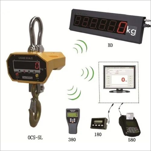 Wireless Remote Display Scale